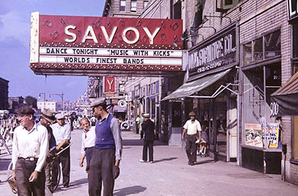 THE SAVOY BALLROOM